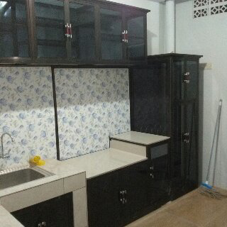 kitchen set alumunium